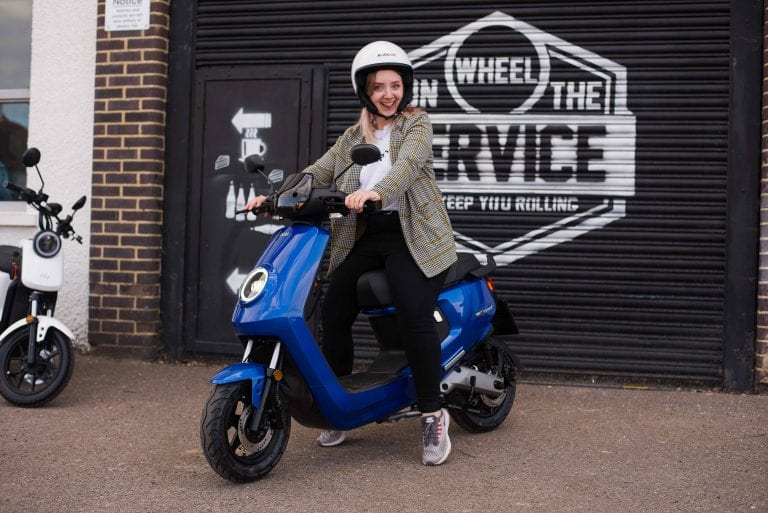 sinnis on the wheel vegan rider