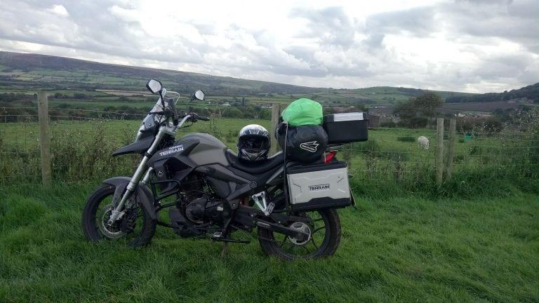 sinnis terrain in the grass countryside