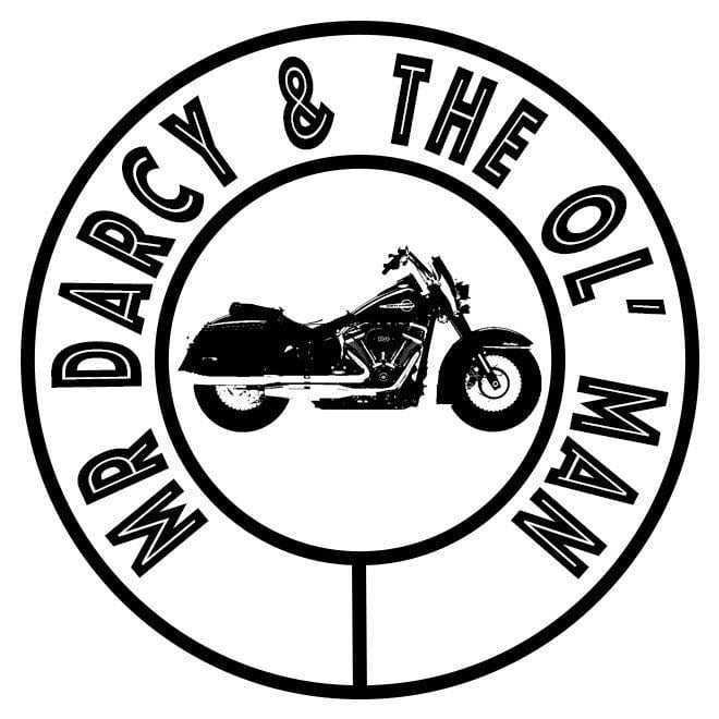 mr darcy and the ol' man logo black