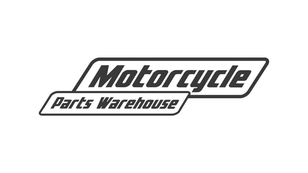 Motorcycle parts warehouse logo