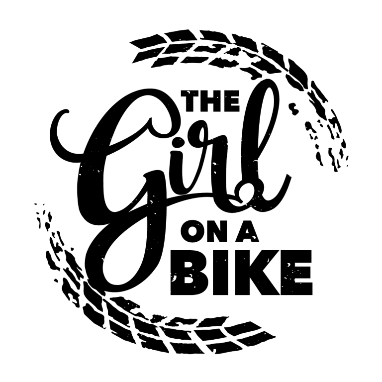 the girl on a bike
