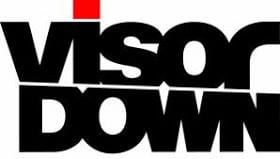 visor down logo