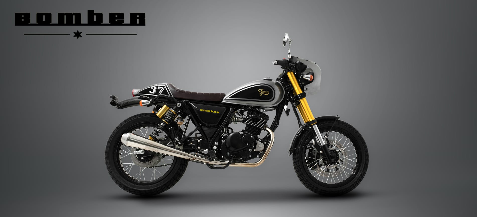 Sinnis Bomber 125cc Motorcycles Motorbike