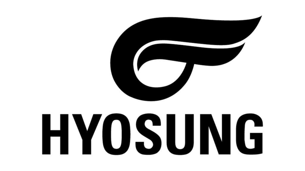 hyosung logo black