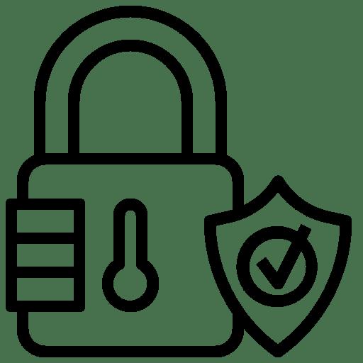 GDPR padlock