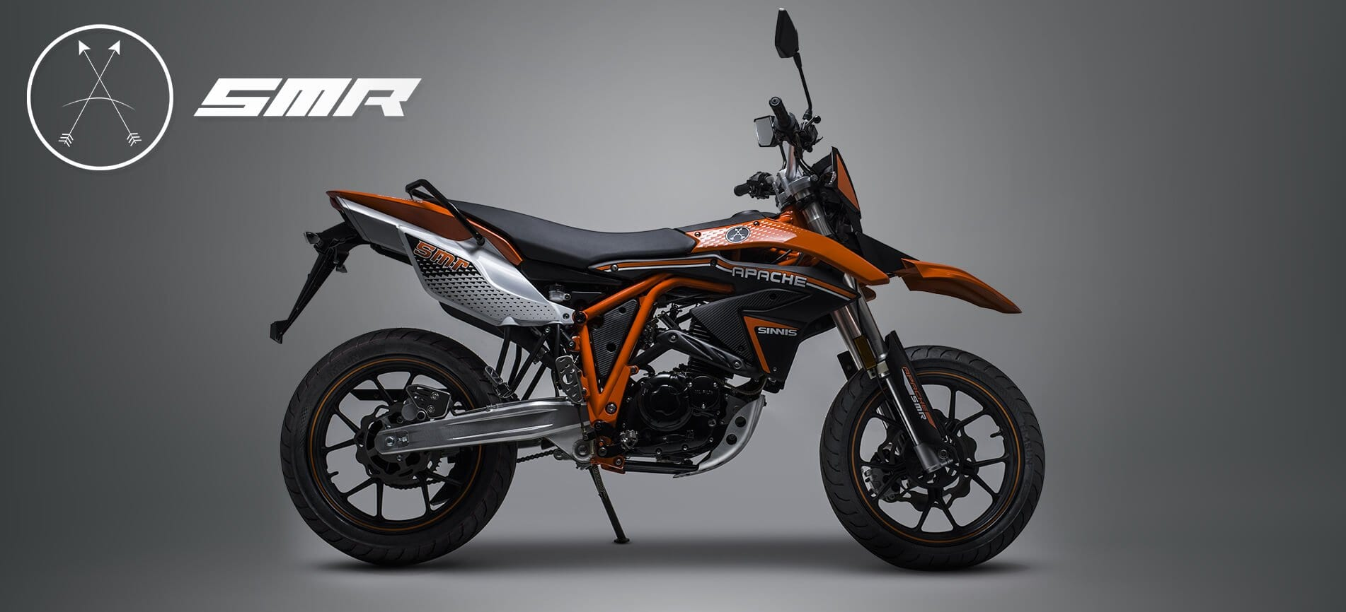Sinnis Apache SMR 125 studio orange