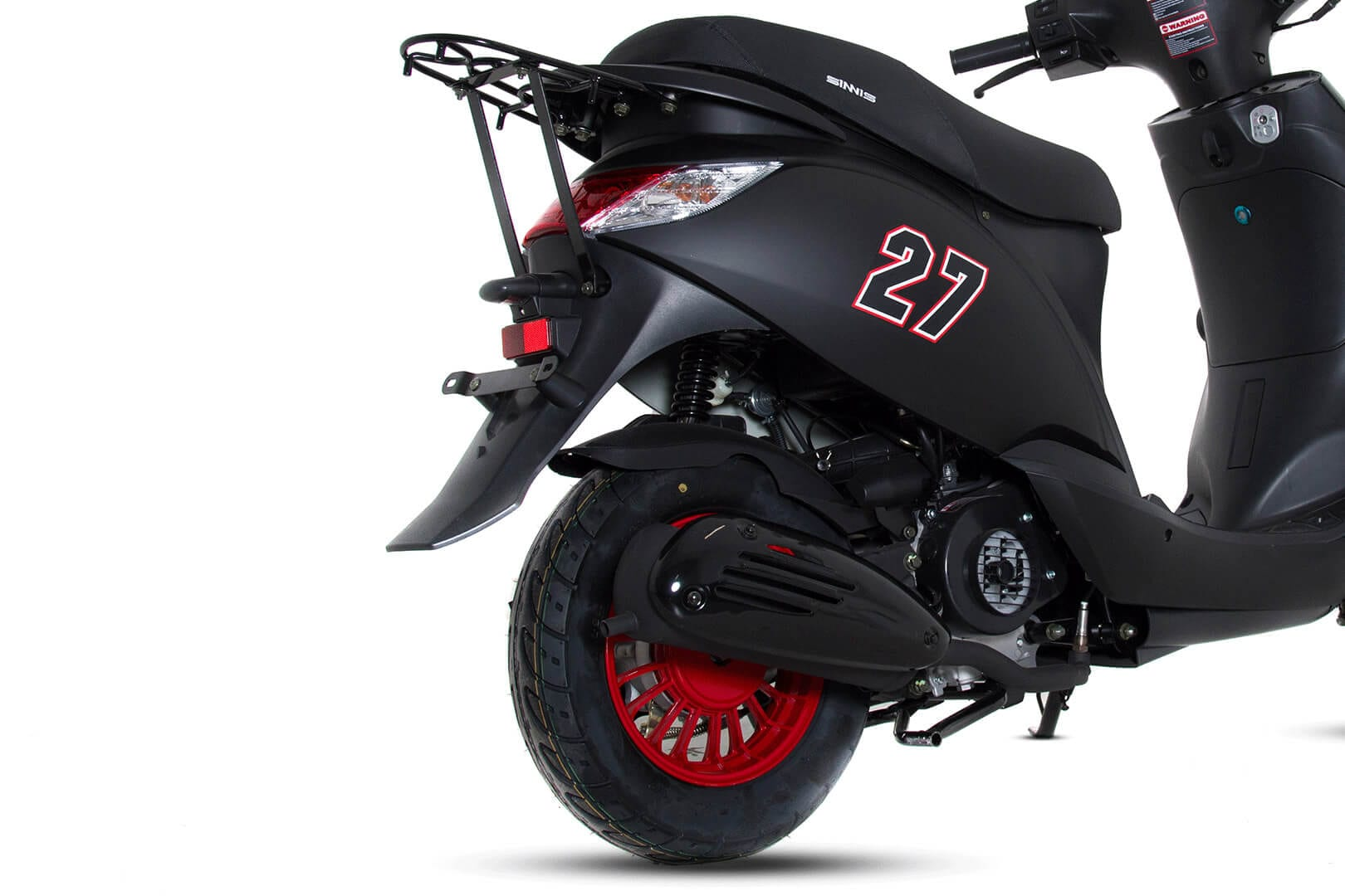 Sinnis street 50cc black