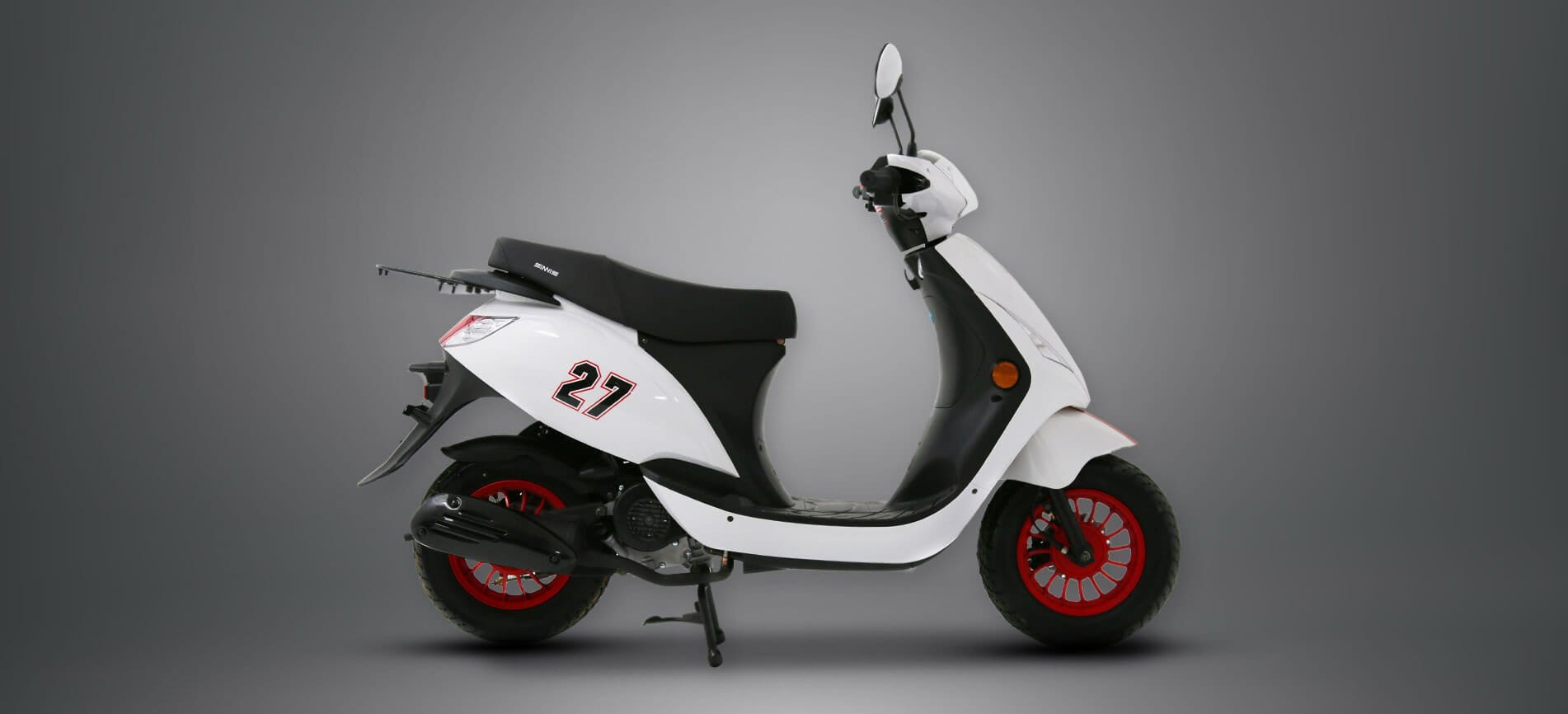 Sinnis street 50cc white header